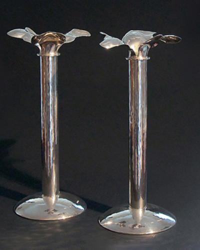 Ljusstake, silver